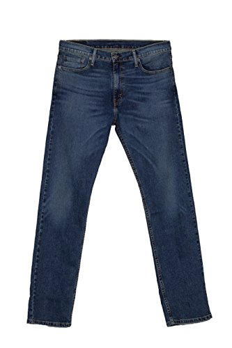 Slim 0800 513 Levi's Straight Dritta Vita Uomo Jeans Stretch W33l32 Alta 08513 Azzurro Gamba qnfnWOty