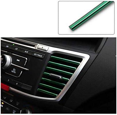 Scelet 10 Stücke Auto Auto Bunte Klimaanlage Luftauslass Dekoration Streifen Autozubehör Küche Haushalt