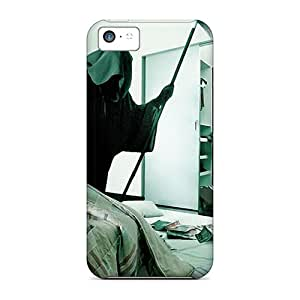 Iphone 5c MQl9409ruNj Customized Realistic Grim Reaper Image Protective Hard Phone Cases -AaronBlanchette