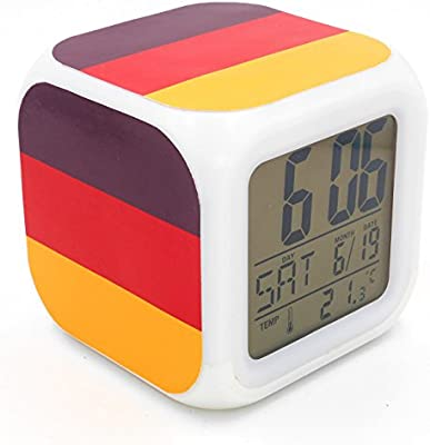 Boyan LED Alarma Reloj Alemania bandera nacional diseño ...