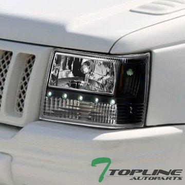 Topline Autopart Headlights Reflector Cherokee