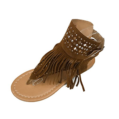 Donna Sexy Da Tacco Spillo Plateau Women Alto E Sandali Piatti Fiore Fradito Con A Estivi Marrone Estate Spiaggia Cerimonia Panpany Sandals In gIO5wqq