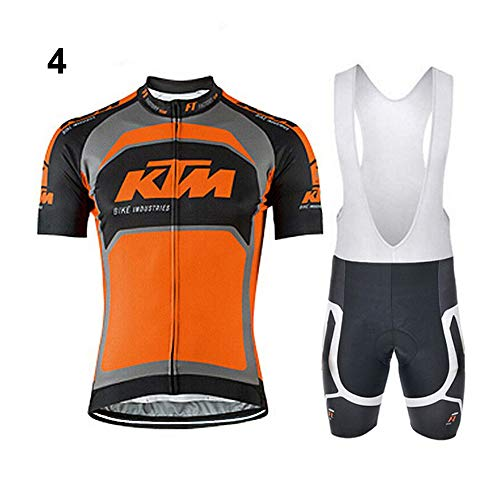 Men's Cycling Jersey Sets Short Sleeve Professional Team Clothing M-3XL