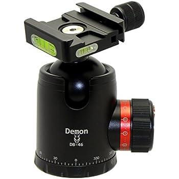 Demon DB-46 46mm Tripod Ball Head Arca Compatible with Pan Lock & 60mm QR Plate