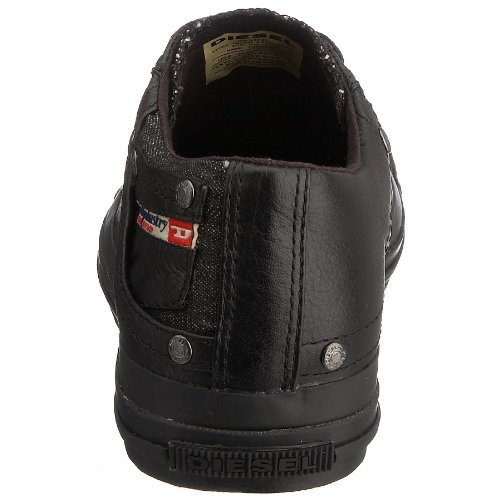 homme Noir Diesel Exposure Low Baskets Run mode fqwqUBpPx