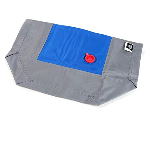Water injection bed 81x63.5x18cm Water injection bed 81x63.5x18cm ZUOZUOZUO Pet Camp Bed Moisture-Proof Breathable Non-Stick Dog Bed Four Seasons Universal Removable Washable Kennel Mat Water Bed 81X63.5X18Cm