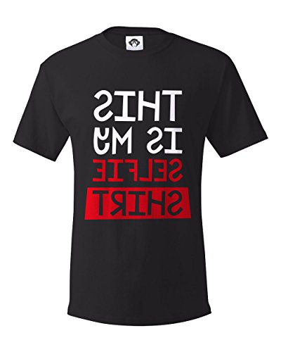 Clever Graphic This Is My Selfie Shirt, Graphic Tee, Men's T Shirt Clever Tee Shirts