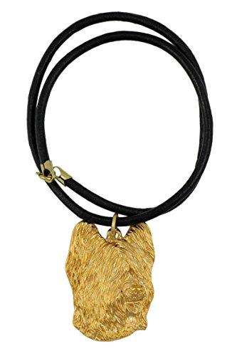(Briard, Millesimal Fineness 999, Dog Necklaces, Limited Edition, Artdog)