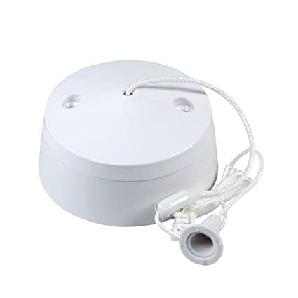 Miraculous Bathroom Pull Cord Ceiling Switch 6 Amp White Home Interior And Landscaping Palasignezvosmurscom