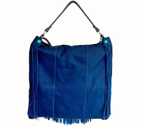 GABS , Sac pour femme à porter à l'épaule bleu