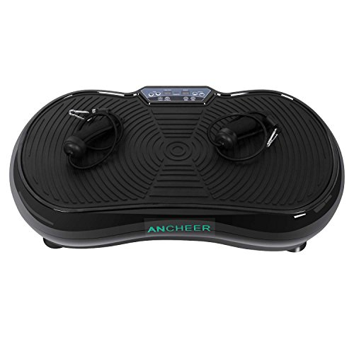 Ancheer Full Body Vibration Platform Fitness Massage Machine Exercise Trainer Plate