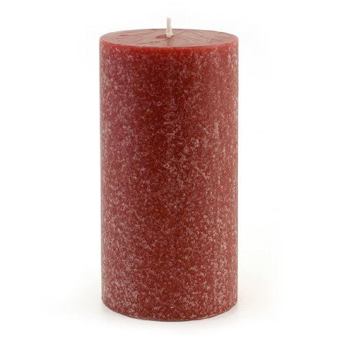 Root Scented Timberline Pillar Candle, 3-Inch by 6-Inch Tall, Crisp (Orange Vanilla Pillar)
