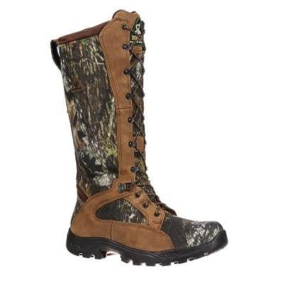 """98f5de0ac6e15 Rocky Men's 16"""" Prolight Waterproof Snake Boots, Mossy Oak Break-Up,  ..."""