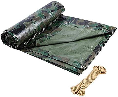 Paño de la cortina impermeab le Lona impermeable de Alta Resistencia for Exteriores Protector solar camuflaje Pergola PE impermeable de tela hebilla de metal de polietileno, 6 tamaños, adaptables paño: Amazon.es: Hogar
