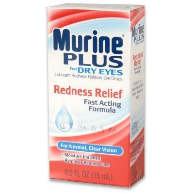 Murine Plus Lubricant Redness Relief Eye Drops by Murine
