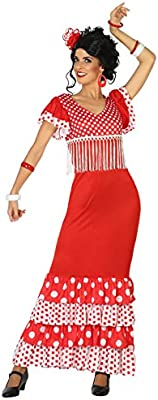 Atosa-38606 Disfraz Flamenca, Color Rojo, XS-S (38606): Amazon.es ...