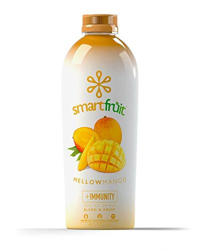 Smartfruit Mellow Mango, All Natural 100% Fruit Smoothie Mix, No Added Sugar, Non-GMO, No Additives, Vegan, 48 Fl. Oz (Pack of - Added No Yogurt Sugar