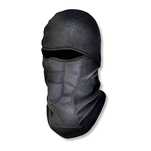 Diagtree Winter Ski Mask Balaclava, Wind-Resistant Waterproof Face Mask, Thermal Fleece (Black) -