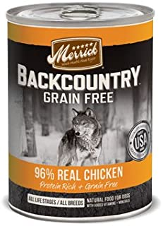 product image for Merrick Backcountry 96 Real Chicken Can Dog Food