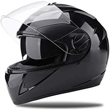取り外し可能なウィンターネックスカーフ付きフルフェイスオートバイストリートバイクヘルメット