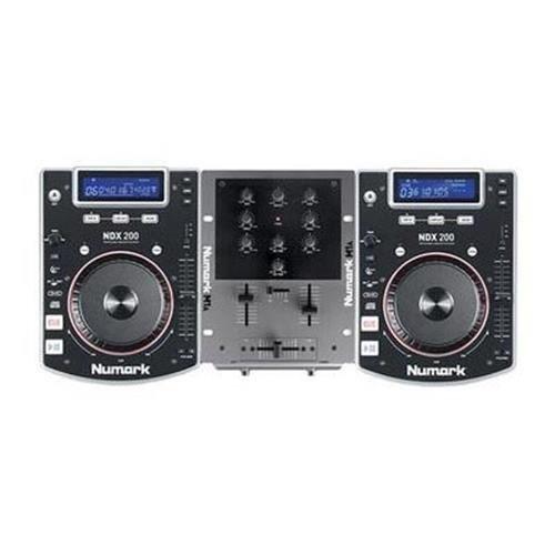 Numark CD DJ In A Box Complete DJ System