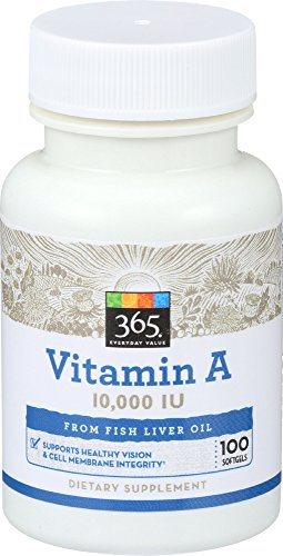 365 Everyday Value, Vitamin A 10,000 IU, 100 ct