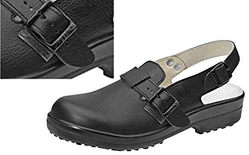 Sicherheitsschuhe Clogs schwarz ABEBA 1010 Gr. 37