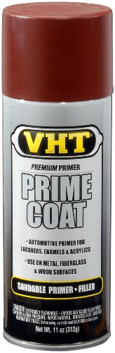 - VHT ESP303007 Prime Coat Red Oxide Sandable Primer Filler Can - 11 oz.