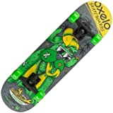 OXELO PLAY 3 DOG SKATEBOARD - GREEN