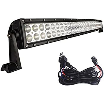 41wjEXPW ZL._SL500_AC_SS350_ amazon com yitamotor curved 50 inch flood spot combo led work 50 light bar wiring harness at soozxer.org