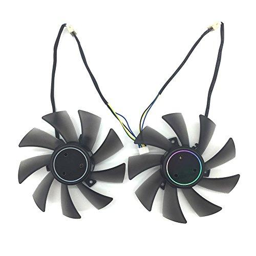 T129025SU 12V 0.38A 4PIN for ASUS HD7970 HD7950 GTX680 DirectCU II fan (2PCS/LOT) by Z.N.Z (Image #3)