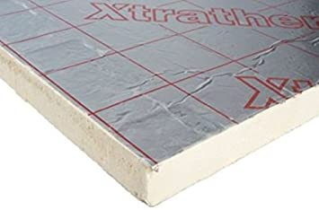 2400 x 1200 x 50mm XtraTherm - Celotex High Performance Rigid Foam PIR Insulation Sheet Roof  sc 1 st  Amazon UK & 2400 x 1200 x 50mm XtraTherm - Celotex High Performance Rigid Foam ... memphite.com