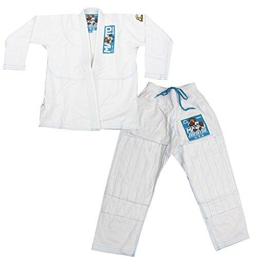 """Manto """"Monkey"""" Gi for Kids - White - M0"""