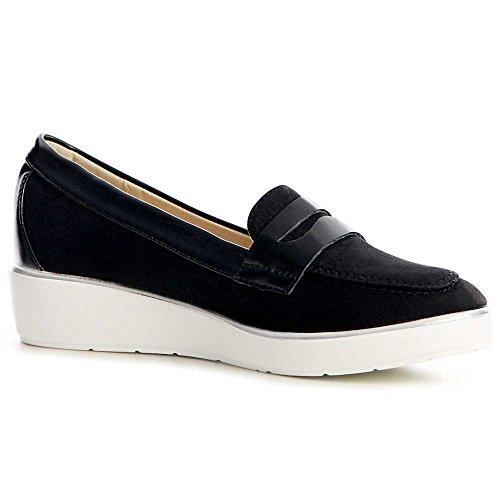 Mocassins Mocassins Mocassins topschuhe24 topschuhe24 Noir Chaussures Femmes Femmes topschuhe24 Chaussures Noir Noir Chaussures Femmes H7wn4Fxq