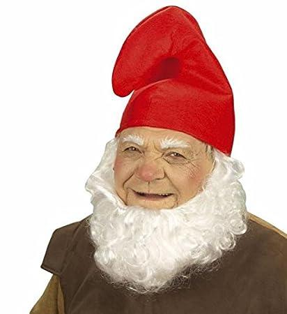 Zwergenmutze Schlumpfmutze Hut Mutze Rot Und Weiss Zwerg Gnom