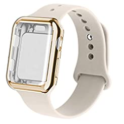 RUOQINI Smartwatch Band with Case Compat...