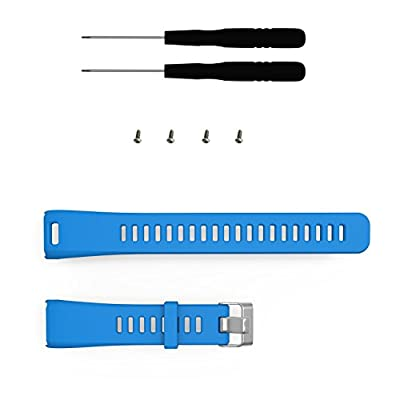 I-SMILE Garmin Vivosmart HR Bands, Replacement Bands for Gramin Vivosmart HR, Pin Removal Tools include(No Tracker, Replacement Bands Only)