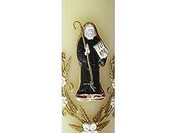 Angelitos de Mexico Saint Benedict Handmade Candle Cirio De San Benito Hecho a Mano