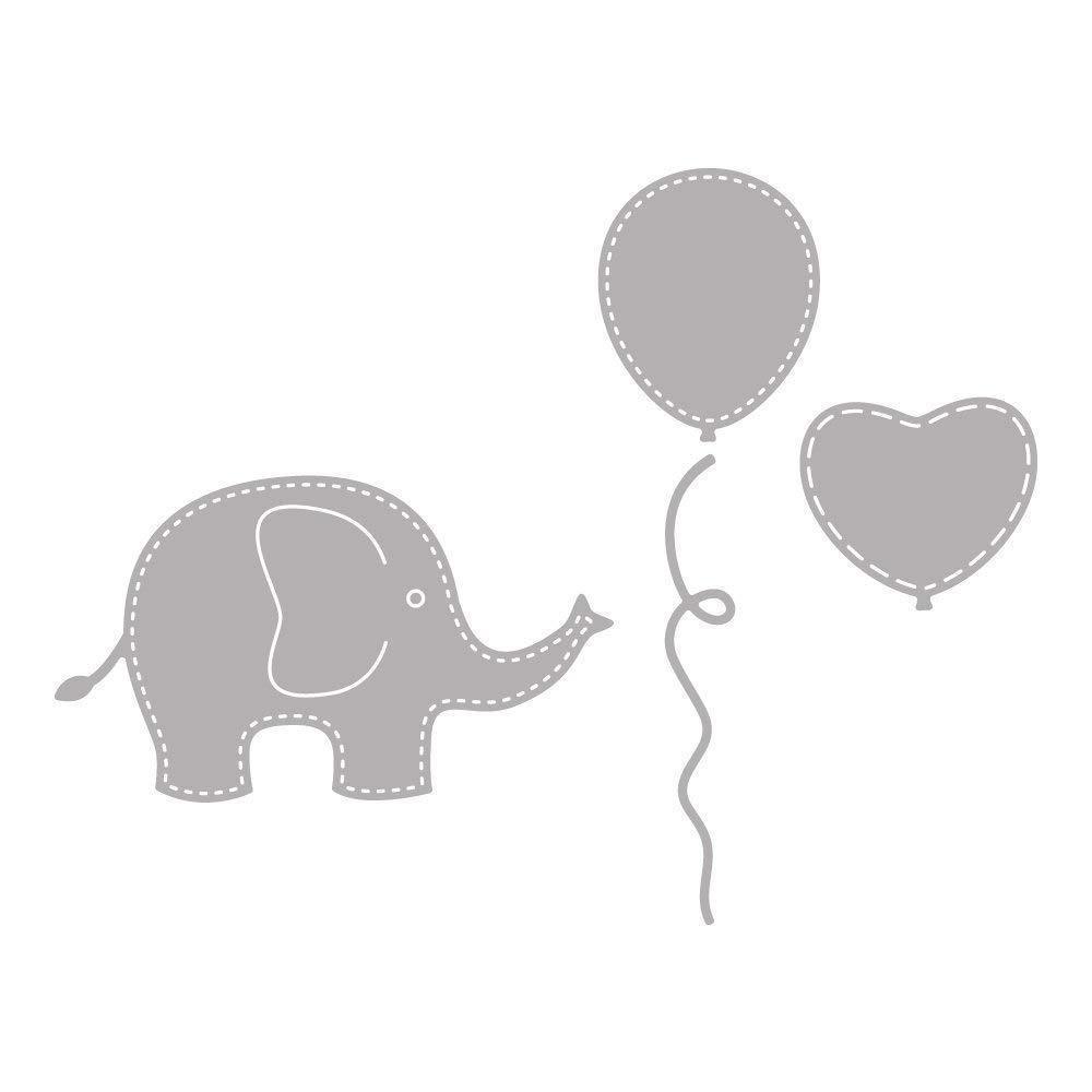 SB-dimensioni 1-8 Stencil Baby Elephant 5 cm 2 4 pz Rayher 59241000
