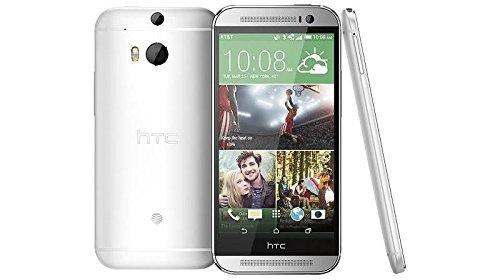 HTC M8-SILV One (32GB) - 4G LTE Unlocked Smartphone (Glacial Silver) (D132)