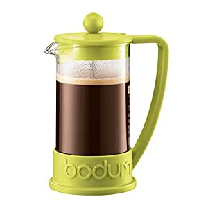 Bodum New Brazil 3-Cup French Press Coffee Maker, Green