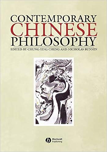 Amazon Com Contemporary Chinese Philosophy 9780631217251 Cheng Chung Ying Bunnin Nicholas Books