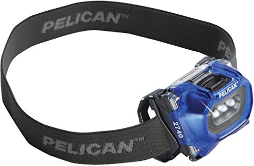 (Pelican 2740 LED Headlamp (Blue))