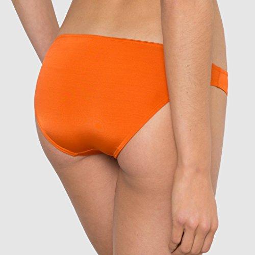 R Edition Frau Bikinislip, Riostil Gre 46 Orange