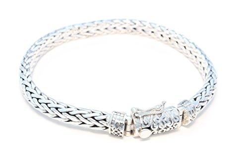 Ornament verziertes Bracelet en argent sterling