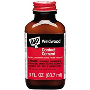 Dap 107 3-Ounce Weldwood Contact Cement