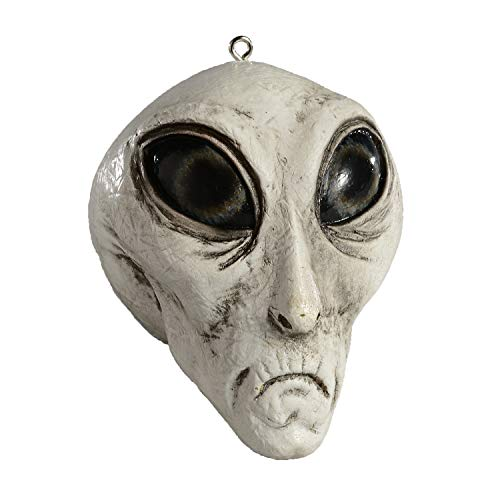 HorrorNaments Roswell Alien Ornament - Scary Prop and Decoration for Halloween, Christmas, Parties and Events -