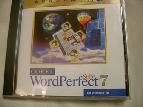 Corel Word Perfect Suite 7 ~ Academic Edition (Word Perfect Office Suite)