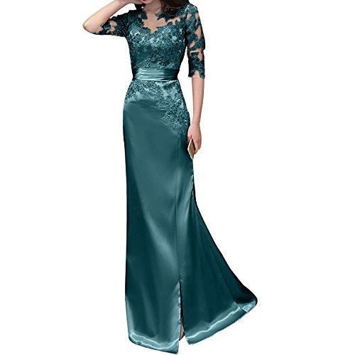 Neu Langes Spitze Blau Brautjungfernkleider Abendkleider Rosa Ballkleider Tinte Etuikleider Damen Charmant tg6qx84
