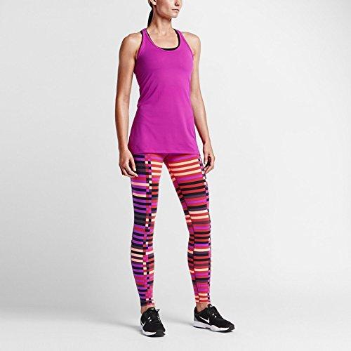 Nike Legendary Engineered Lattice Training Tights Crimson/Black Medium